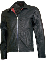 Biker Layer Cake Leather Jacket | LJM - $199.99
