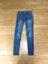 Women's American Eagle Stretch Jeggings Blue Si... - $25.23
