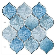 "(Ship from USA)Cocotik 12""x12"" Self Adhesive Peel Mosaic Wall Vinyl Backsplash S image 2"