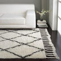 Amala Flokati Style Moroccan Shag Rug -  West Elm Restoration Style Mid ... - $285.12