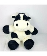 "Dakin Cow Plush 1993 Vintage Stuffed Animal 11""  Black & White - $23.76"