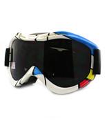 Ski Snowboard Goggles Anti Fog Shatter Proof Lens Mondrian Design - $18.95