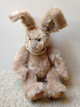 """Nwt Russ Berrie Limited Edition Bunnies From Past  Buckingham  20""""  Rabbit F/S - $11.10"""