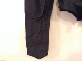 Antique Black Silk Taffeta Pleated Blouse Ruffles Museum Piece image 4