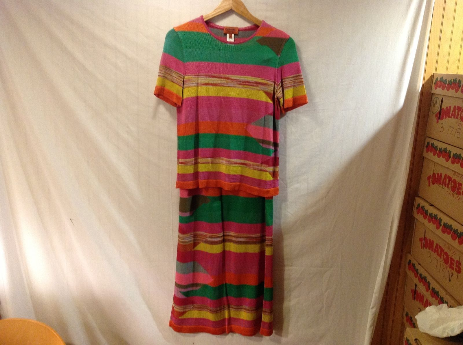 Missoni 2 Piece Skirt Outfit  Size 42