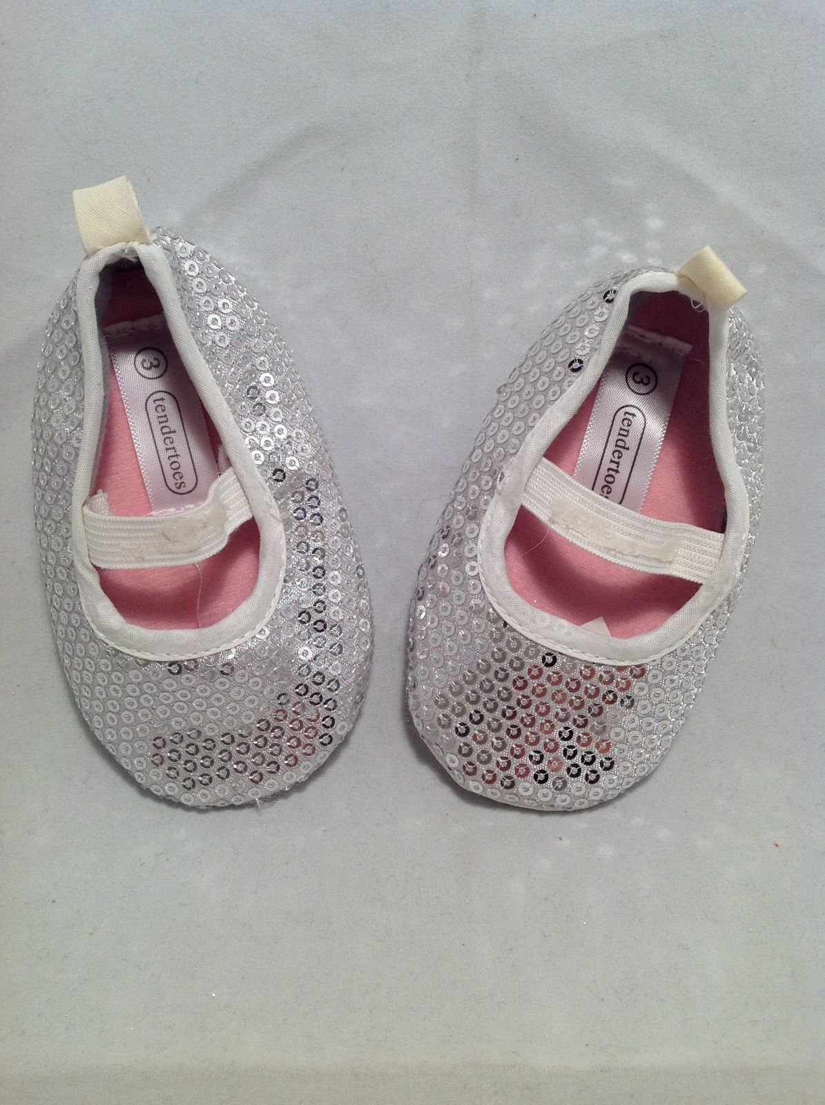 Newborn girl baby shoes booties set of 3 size 0 3 months