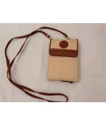 Womens Big Wallet Purse on Shoulder Strap Beige Brown - $24.74
