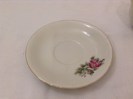 Vintage Japan Teacup and Saucer Set Peony Flowers Fine China image 3