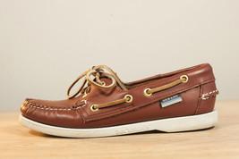 Sebago 5.5 Brown Boat Shoes Women's - $45.00