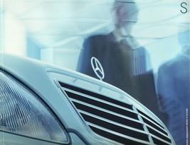 2002 Mercedes-Benz S-CLASS 430 500 600 S55 AMG brochure catalog US - $12.00