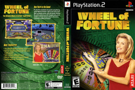 Wheel Of Fortune CUSTOM PS2 CASE (NO GAME!!!!!!!!) - $5.64