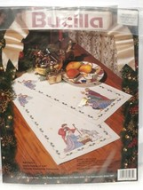 Bucilla Table Runner 1991 Nativity Cross Stitch No Floss or Needle inclu... - $24.16