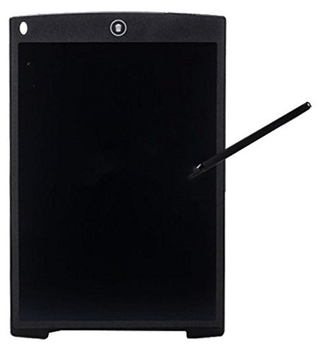 12 Inch LCD Writing Tablet with Stylus Pen(Black&Dark Gray), CR2020 Battery Oper