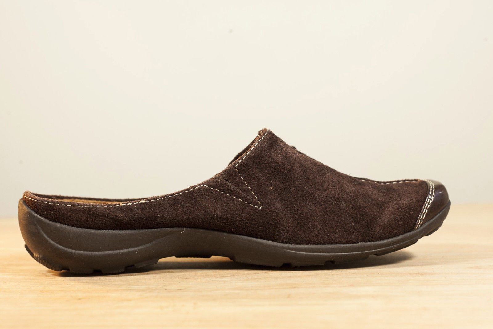 Natural Soul Naturalizer 6 Brown Fanner Mules Slip On Women's Shoes