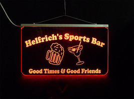 Personalized LED Sign, Sports Bar, Man Cave, Signage, Multi-Color Changing image 8