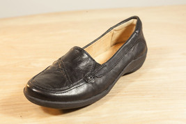 Naturalizer 5.5 Black Leather Loafers Flats Women's Shoes - $43.48 CAD