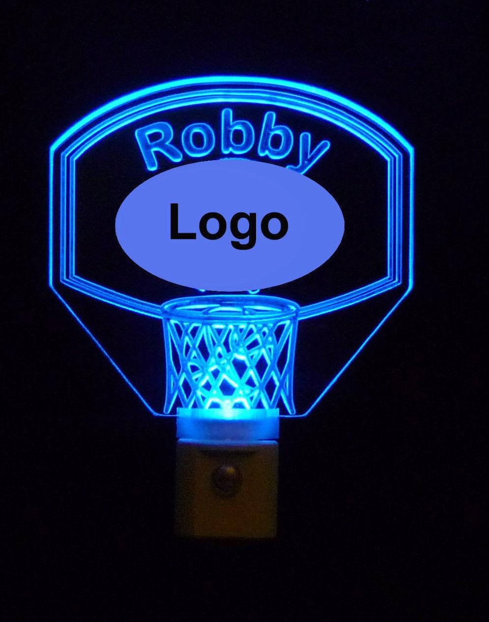 Personalized Sports Basketball Night Light-Custom LED ...