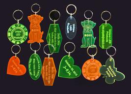 Personalized Keychains, Key Tags, Key Rings **N... - $8.00