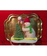 Hallmark 2010 Trimming The Tree Snowman Plush Jingle Pals New! Very Rare - $389.99