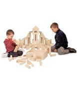 Wooden Building Block Set 60 Pieces Kids Standa... - $74.23