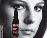 I KNEW HER WELL DVD - THE CRITERION COLLECTION - NEW UNOPENED