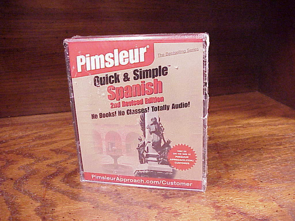 Pimsleur Quick and Simple Spanish 2nd Edition Language Learning CD Course sealed