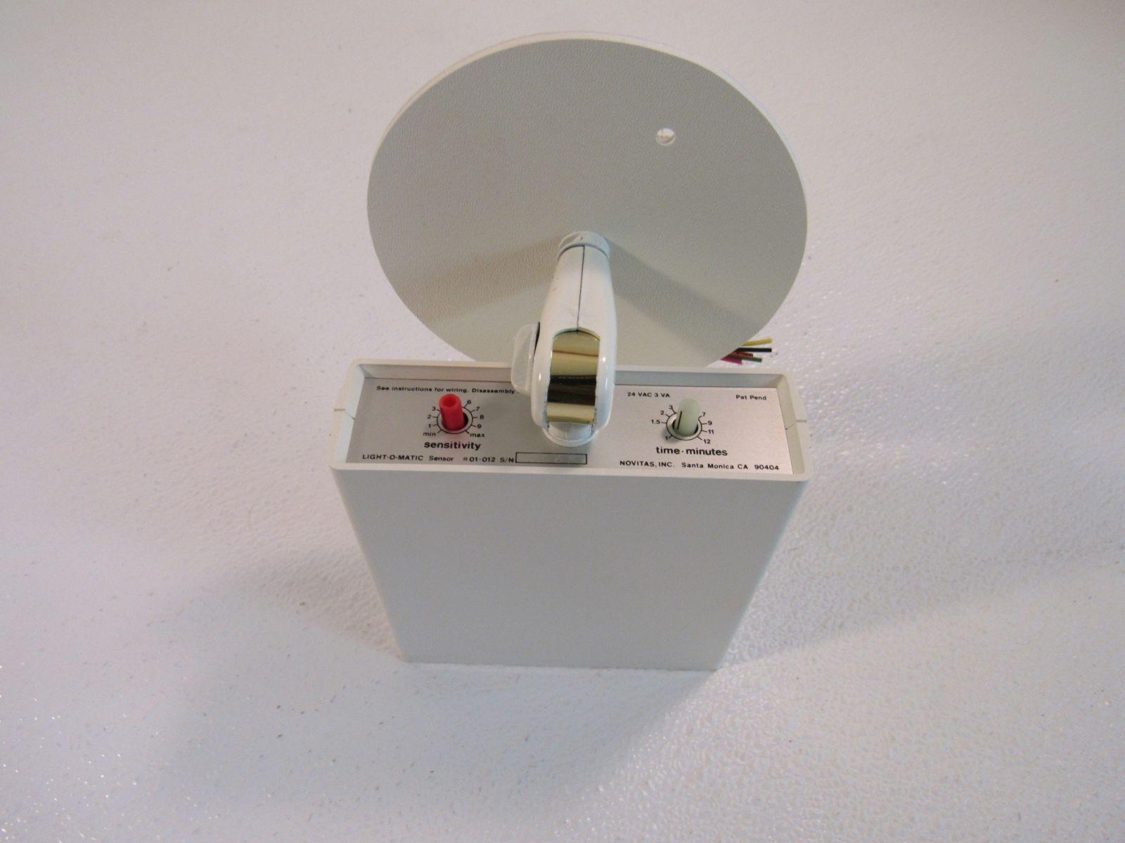 Novitas Light-O-Matic Master Sensor White 01-012