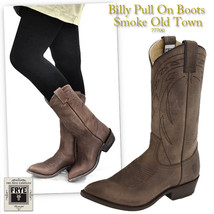 FRYE 77700 BILLY PULL ON SMOKE OLD TOWN WOMEN BOOTS  NEW Size US 6 UK 4 ... - $149.99