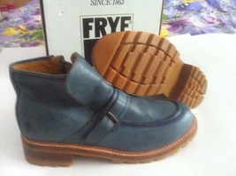 FRYE HEAVY DUTY 87045 ZIP UP HARNESS CHUKKA MOC TOE MEN BOOTS NEW Size U... - $99.99+