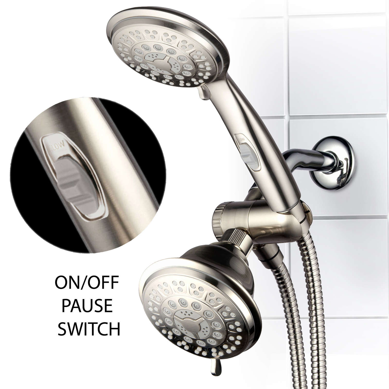 42 Setting Shower Head Handheld Combo With And 24 Similar Items