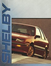 1989 SHELBY CSX and DAKOTA sales brochure catalog US 89 Dodge Shadow  - $12.00