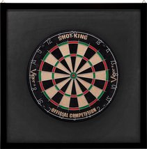 Viper Wood Framed Dartboard Backboard, Mahogany... - $54.99