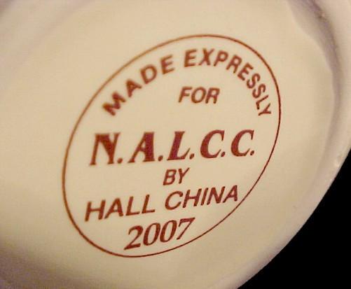 Autumn Leaf Cup Plate Snack Set Hall China Jewel Tea