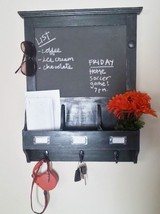 Handmade Custom Chalkboard Organizer Home Decor... - $85.00