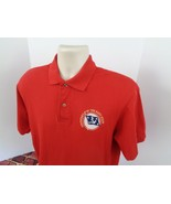 United States Navy Secretary of the Navy Staff Red Polo Shirt Military M... - $27.43
