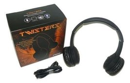 Twisters Audio Collapsible HD Bluetooth Headphones Headband and Stereo S... - $19.99
