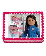American Girl Luciana 2018 Edible Cake Image Cake Topper - $8.98+