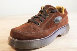 Dr Martens 8 Brown 8363 Men's Platform Oxford Shoes Vintage - $148.00