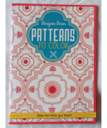Designer Series Patterns to Color Kappa Books U... - $7.99