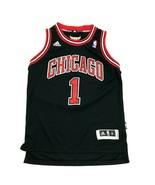 NEW Derrick Rose Chicago Bulls Basketball Jersey Youth Size Medium +2 Ta... - $36.83