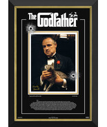 Marlon Brando - The Godfather - Framed Ltd Ed 72/172 - Facsimile Autograph - $690.00