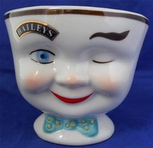 Baileys Irish Whiskey Coffee Sugar Bowl Man Win... - $9.89