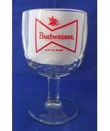 Vintage Budweiser King of Beers Bowtie Goblet S... - $6.43