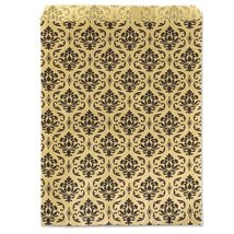 "Gift Bag Damask Print 7""x5"" (100-Pcs) - $8.26 CAD"