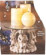 Cherubs Musical Candle Pedestal - $19.95