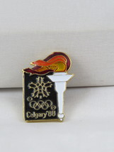 1988 Winter Olympic Games Pin - Olympic Torch Relay Pin - Full Cour - $15.00