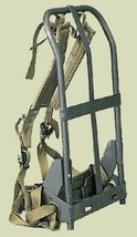 A.L.I.C.E. BackPack Frame, shoulder straps, lower back pad & waistbelt - $39.99