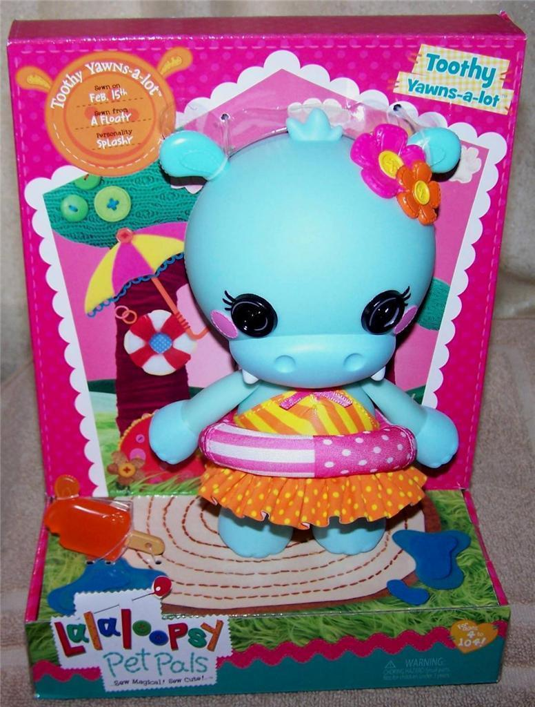 Lalaloopsy Pet Pals Toothy YAWNS-a-LOT Hippo and 50 similar items