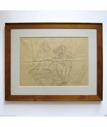 RED GROOMS Umberto Boccioni Signed Dated 1982 P... - $4,455.00