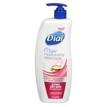 Dial 7 Day Moisturizing Lotion with Shea Butter, Bonus 25% More, 26.25 Oz. - $24.99